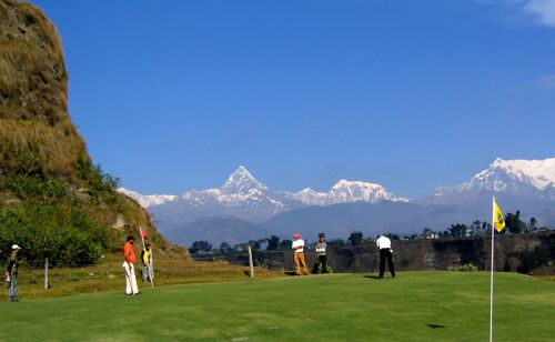 Himalayan Golf Course (9 holes), Pokhara