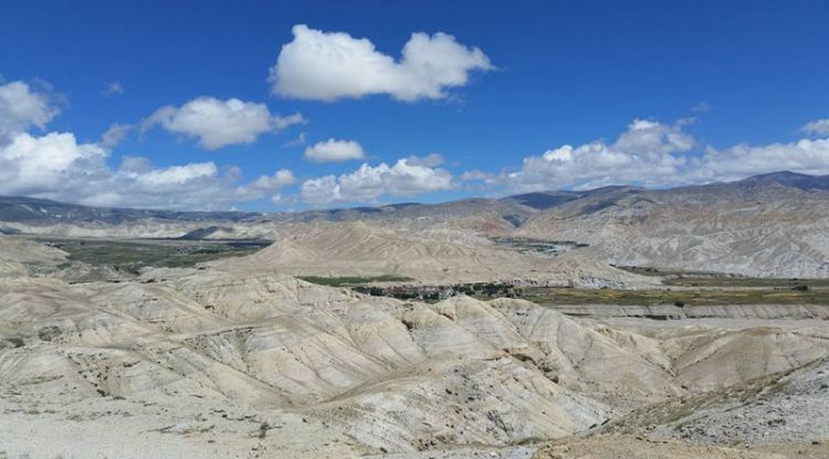 View of Upper Mustang