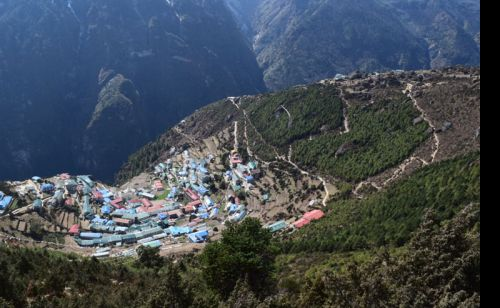 Capital of Everest is called Namche Bazar